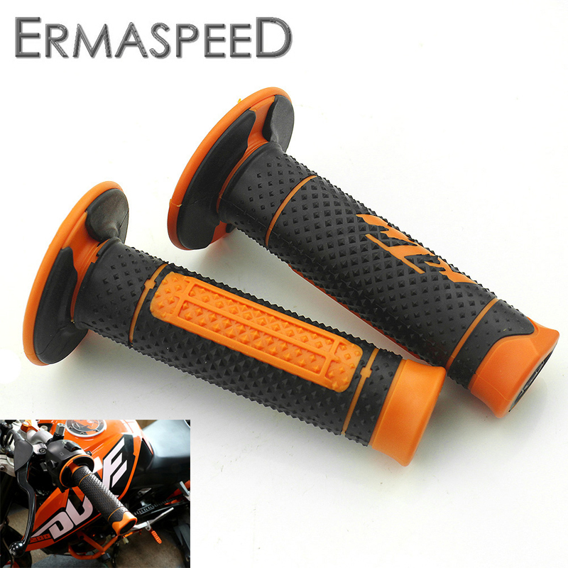 "7/8"" 22mm Motorcycle Handlebar Gel Grip Hand Grip for KTM Duke 125 200 390 690 990 Motocross"