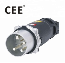 CEE IP67 4pin High Current 200amp plug