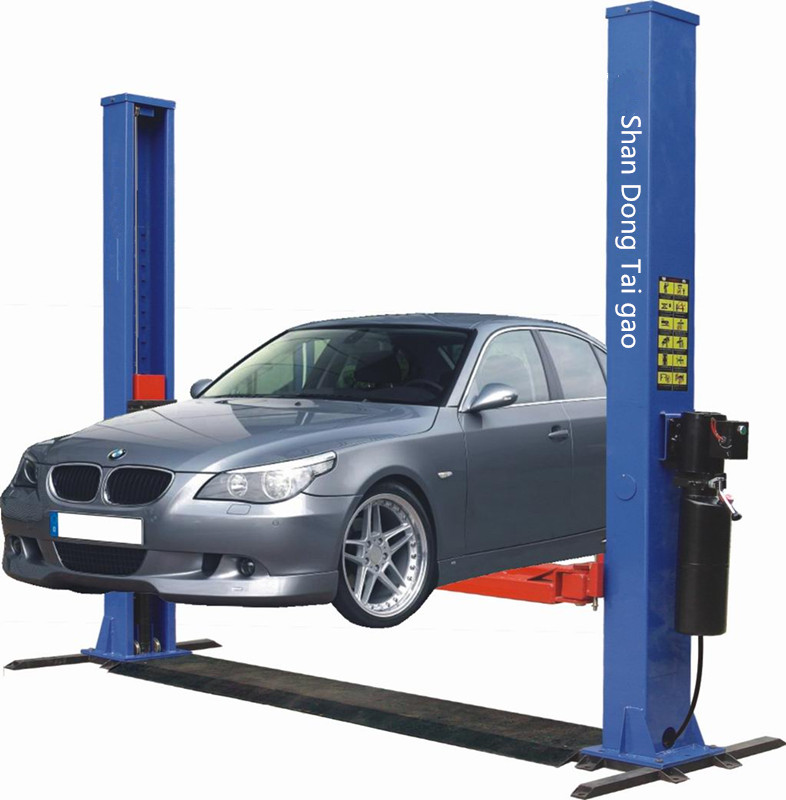 used 2 post hydraulic car washing lift for sale