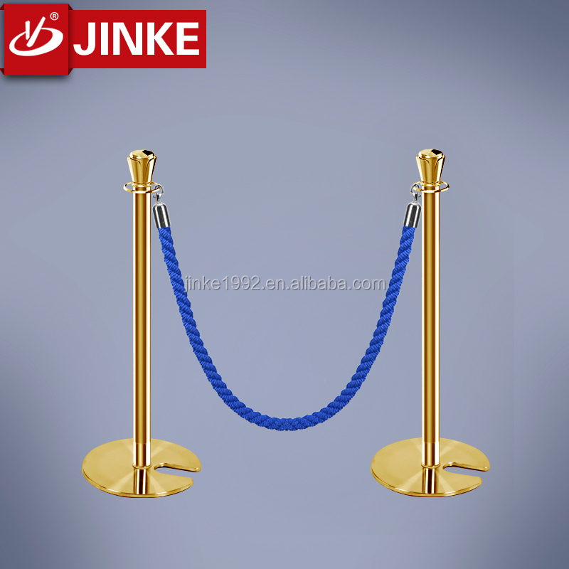 2016 Jinke Innovation Indoor used guardrail for sale Retractable Stanchion Fence roadside guardrail