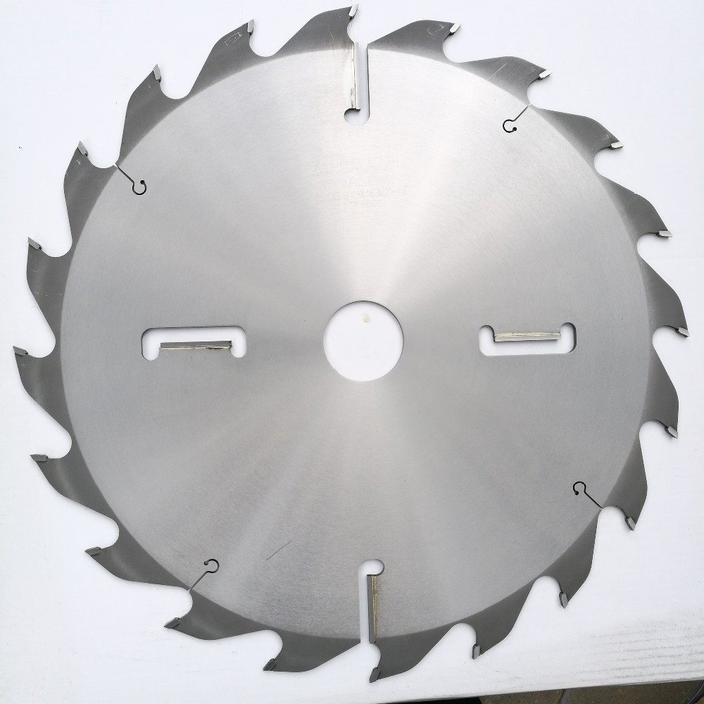 high quality for green wood cutting TCT saw blade with Rakers