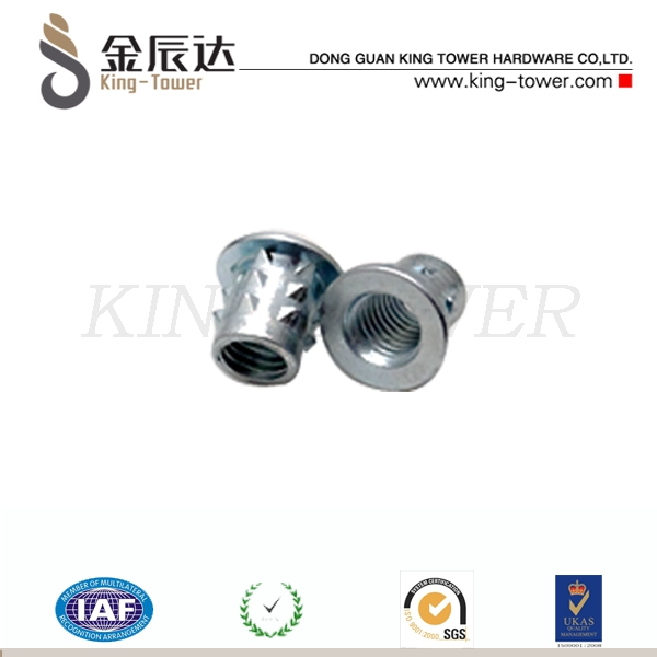 stainless hex head custom nut for machine (with ISO card)