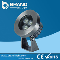 IP68 High Quality 3*3W RGB 3 in 1 9W DMX512 LED Pool Light,CE RoHS