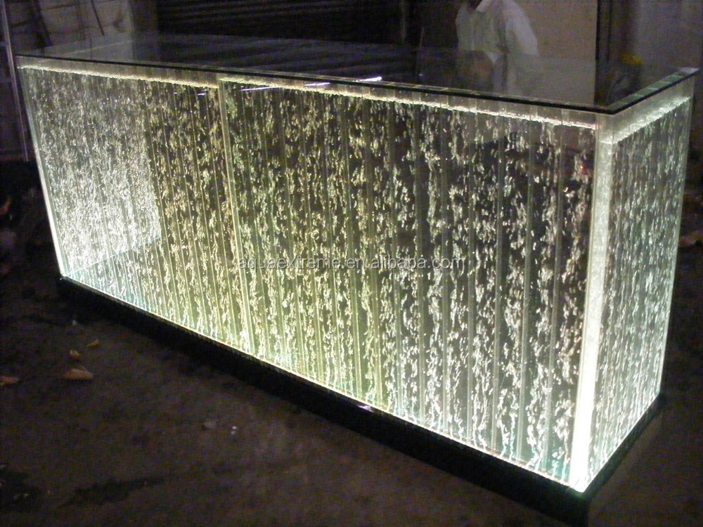 LED Bar Counter. Receiption Desk with Color changing ,size can be customized