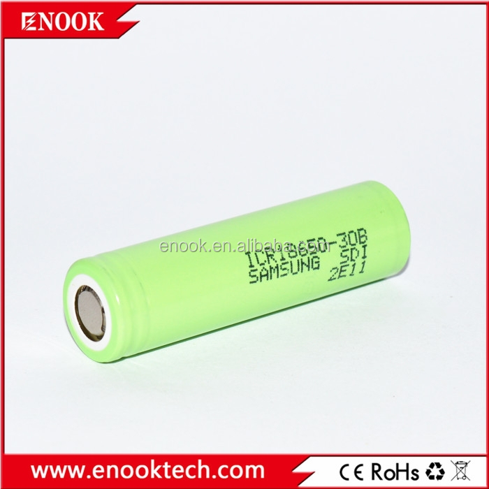 Samsung ICR 18650 30B 3.7V high capacity rechargeable newsun lithium battery for provari e-cigarette