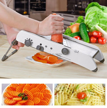 Commercial Vegetable Stainless Steel Mandolin Slicer Professional Vegetable Fruit Cutter