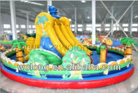 inflatable bouncy slide, inflatable slide kids