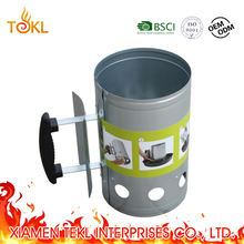 Amazon Top Quick BBQ Lighter Outdoor Charcoal Fire Starter bbq Charcoal Chimney Starter in Zinc Coated