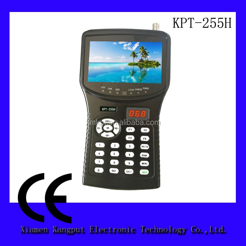 Kangput Digital KPT-958H HD Satellite Finder Meter DVB-S/S2, MPEG-2/4