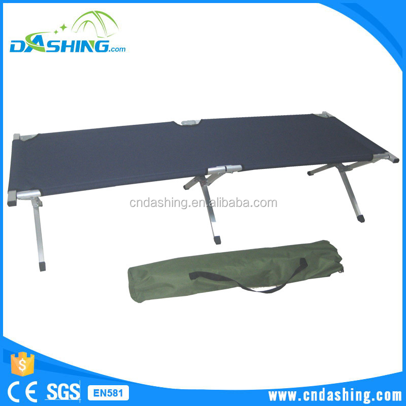 Military cot bed fabric garden beach camping bed camping cot manufacturers