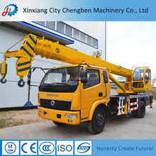 Hydraulic system telescopic boom 8T pickup Truck Crane for Sale