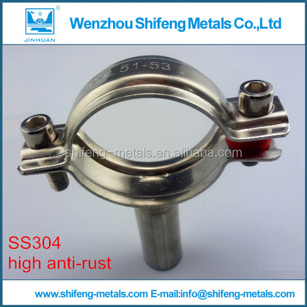 Made in China with low price ss304 Stainless steel pipe hanger