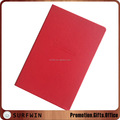 customized A5 PU cover notebook with elastic band / ribbon / Pocket, A5 diary/journal