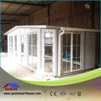 Recycled high quality prefabricated caravan