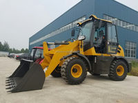 1.6TON articulated mini wheel loader CS916 with 0.8 m3 bucket and 60HP diesel engine