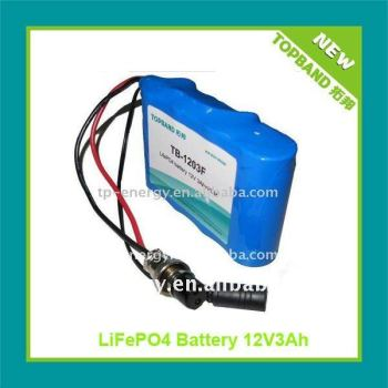 small size battery12V3Ah with wholesale price