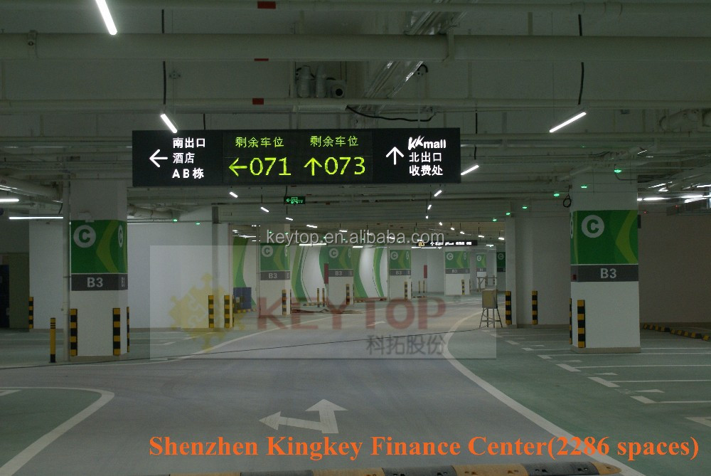 smart car park guidance system for basement parking lots