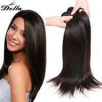 Della Virgin Hair Products Cheap Virgin Brazilian hair Wholesale Unprocessed Virgin Remy Hair