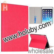 Fashion Oracle Grain Wallet Style Folio Stand Leather Case for iPad Mini 2 Retina with Card Slots