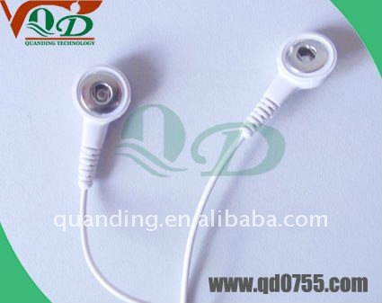 New ! Durable snap ecg cable for ECG electrode