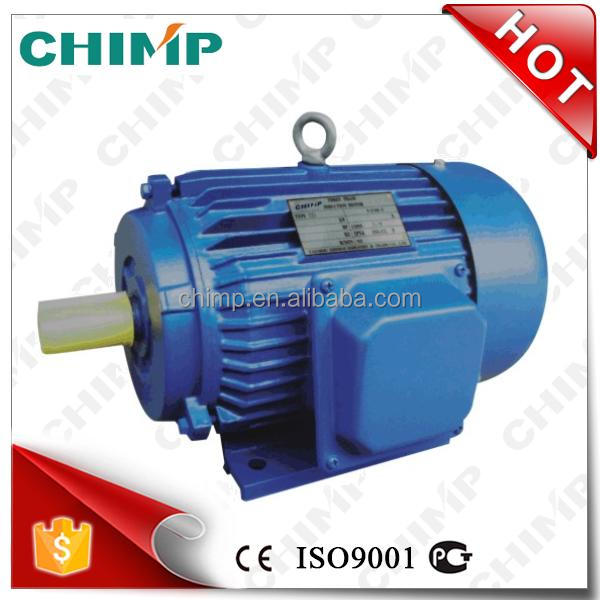 CHIMP YD series 20kW 980rpm trifasicos multi-speed asynchronous AC electric motor
