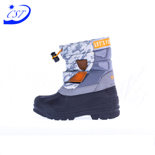 Alibaba China Wholesale Fur Lining Warm Waterproof Kids Snow Boots