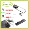 Car Rearview Mirror Cam DVR Recorder Full HD 1080P Car Dvrs Dual Lens Video CCTV Output 30 LED VIDEO Cam