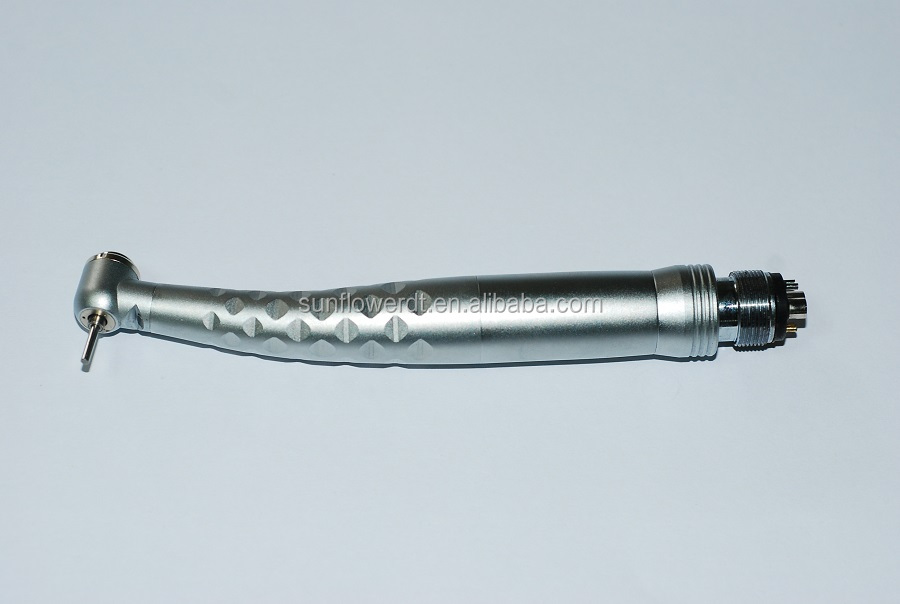 Torque and Standard head Dental LED Handpiece with quick coupling