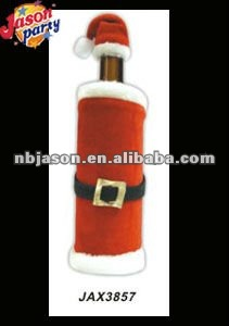 Christmas Craft Wine Bottle Cover Christmas Trinkets