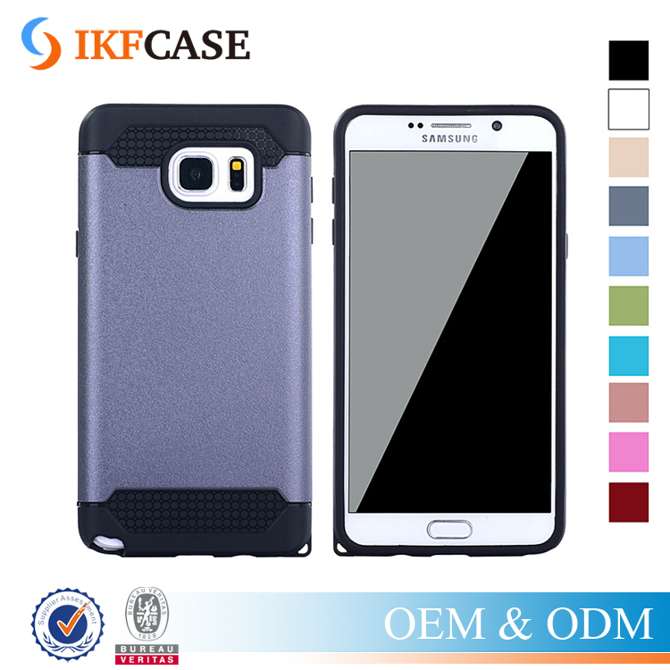 Best Quality Colorful Rugged 2 in 1 Hybrid Armor Cell Phone Case for Samsung Galaxy Note 5