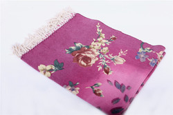 Wholesale Cheap duplex printing thick winter wear wool shawl