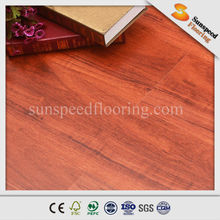 7mm AC3 oak wood laminate flooring with natural color