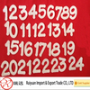 2014 New products felt numbers 1-24 for Christmas Advent calender kit