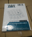 Self Adhesive shipping address label with 30 labels per sheet