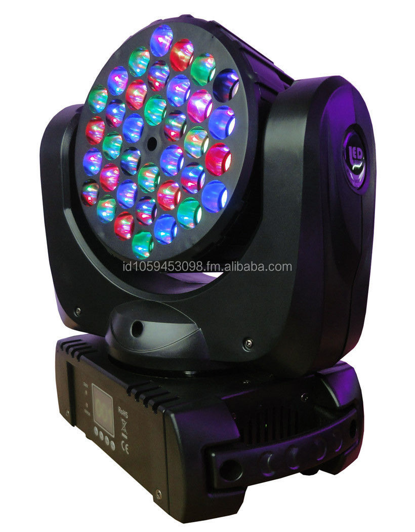4X 36*3W CREE R/G/B/W LED Beam & Wash Moving Head light for Club DJ party stage