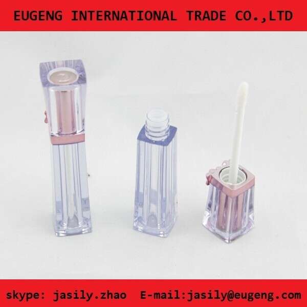 New style attractive lip gloss tube empty