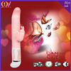 china wholesale real skin feeling heated dildo Silicone G-spot vibrating dildos,rabbit vibrator sex toys for women
