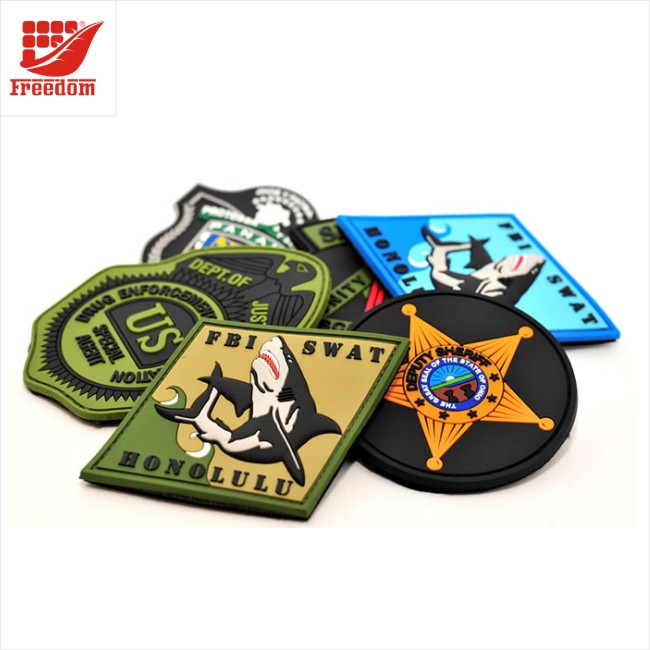 Customized Logo 3D PVC Patch