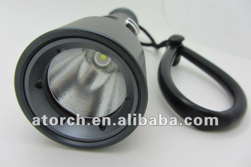 2012 new invention portable led cree flashlight CREE XML T6 waterproof flashlight