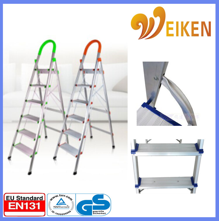 portable step stool safety step ladders with handrail step ladder with handrail