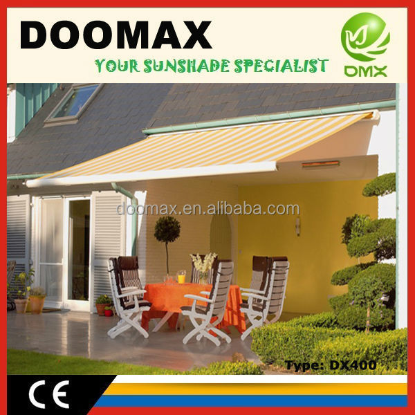 Hot Sale Full Cassette Horizontal Awnings with CE