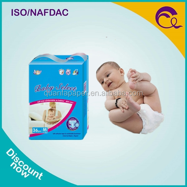 Baby Product Sleepy Baby Diaper with Magic Tape for Disposable Diapers