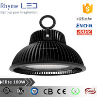 High efficiency high power led driving lights IP65 100w ufo led high bay light