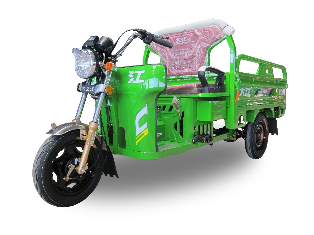 China Ducar LINGDING NO.2 gasoline motorized tricycle for cargo ISO9001,ISO14001,CCC