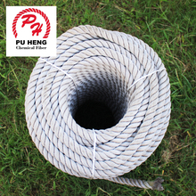 High quality 3 strand nylon twisted rope for sale