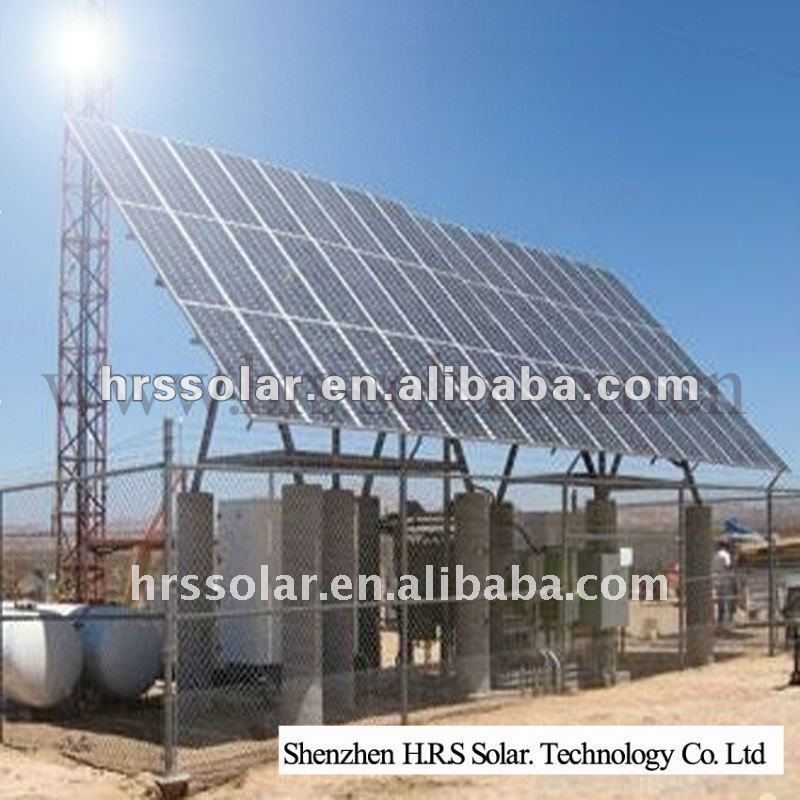 on/off-grid solar photovoltaic power generation system