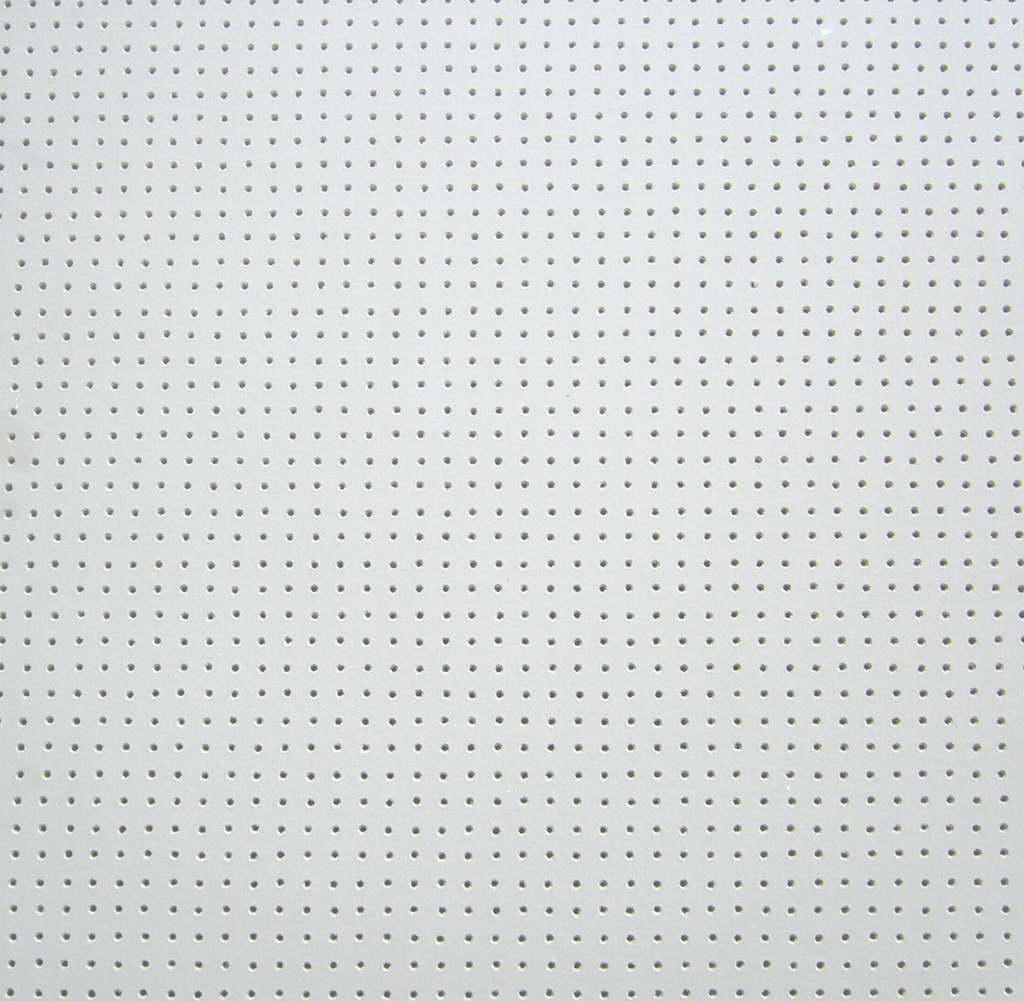 Vinyl rock ceiling tile