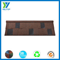 Stone Coated Steel Zinc Roof Tile/Stone Chip Metal Roof