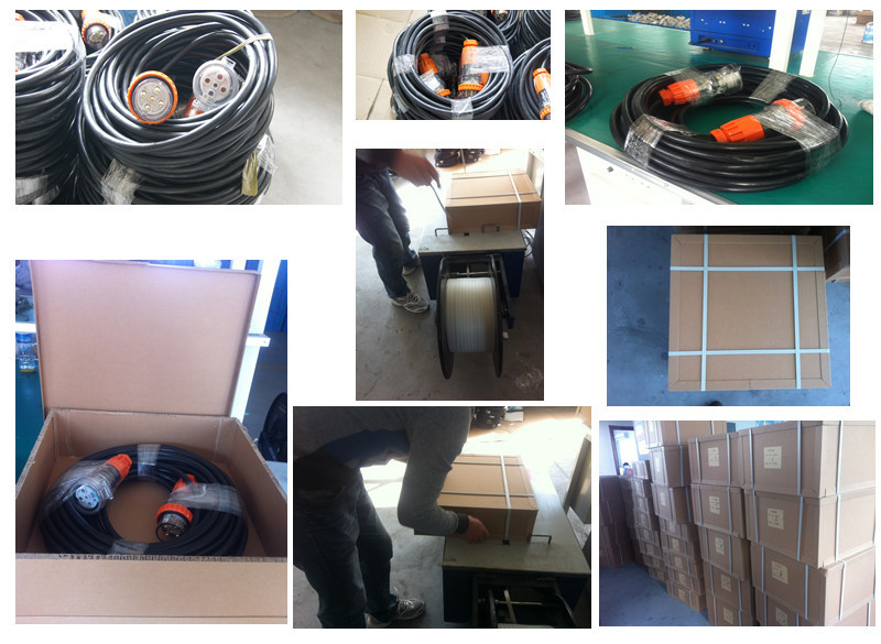 Electric Socket Plug Extension Lead industrial extension lead Shielded wire and PVC rubber cable