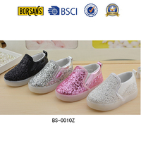 Latest design of trendy glitter fashion baby boy shoes kid shoe 2016,cheap child led shoes from China factory